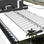 3D Darstellung der Anlage in Abu Dhabi